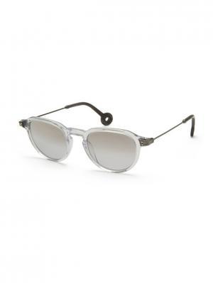 Солнцезащитные очки HS 533S 05 HALLY & SON. Цвет: серый, прозрачный
