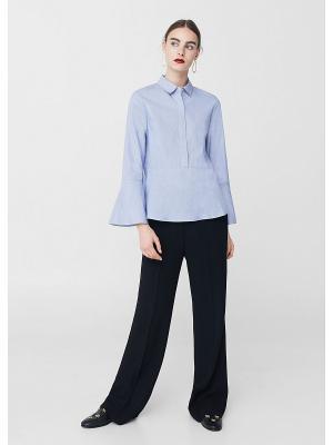 Блузка - BANDI Mango. Цвет: синий