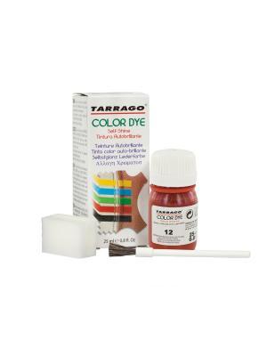 Краситель COLOR DYE, стекло TDC01, 25мл. (012 КРАСНЫЙ) Tarrago. Цвет: красный