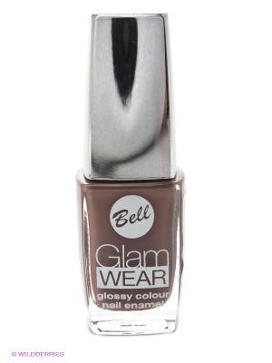 Устойчивый лак для ногтей с глянцевым эффектом Glam Wear, тон 540 Bell. Цвет: коричневый