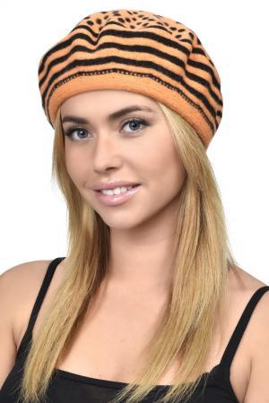 Берет Tonak. Цвет: оранж, черный