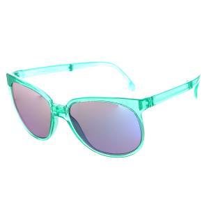 Очки  Sport Crystal Green Sunpocket. Цвет: зеленый