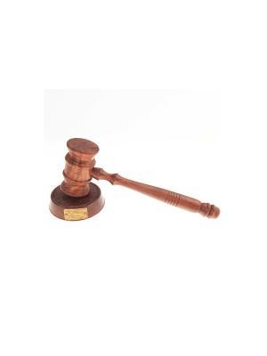Деревянный молоток судьи Барристер Экспедиция. Цвет: коричневый