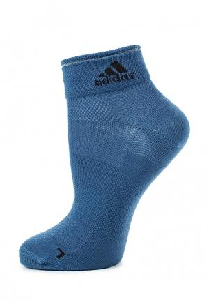 Носки adidas Performance. Цвет: синий