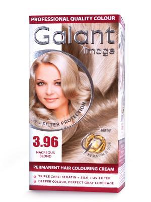 Cтойкая крем-краска для волос GALANT 3.96 перламутр, 125 мл., (Болгария) Image. Цвет: зеленый