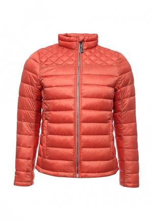 Куртка утепленная Tom Tailor. Цвет: оранжевый