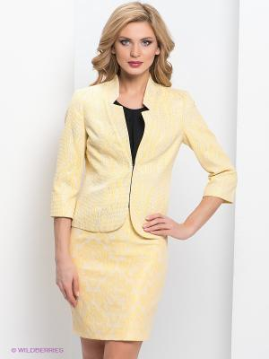 Пиджак adL. Цвет: желтый, серебристый