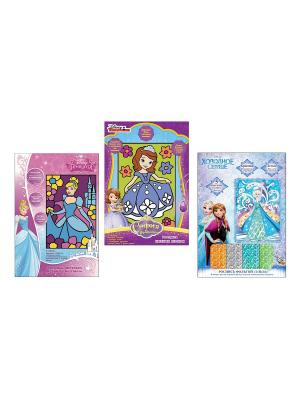 Набор для творчества  Дисней. Принцессы Disney. Цвет: синий, желтый