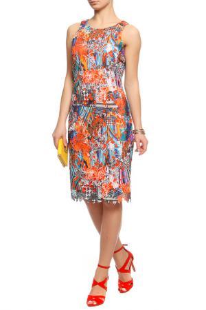 Платье Frank Lyman Design. Цвет: оранжевый