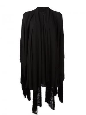 Драпированное платье Plein Sud. Цвет: чёрный