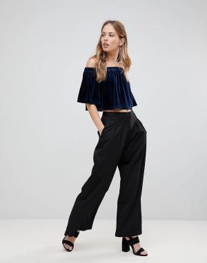 The Fifth Широкие брюки. Цвет: черный