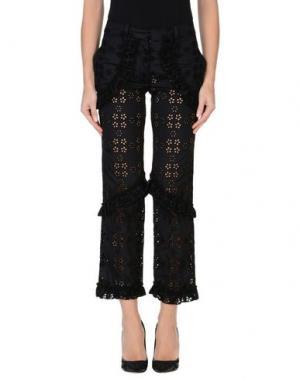 Повседневные брюки SIMONE ROCHA. Цвет: черный