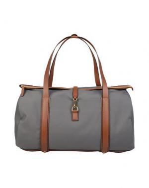Дорожная сумка MISMO. Цвет: серый