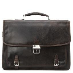 Портфель  8146 темно-коричневый GERARD HENON