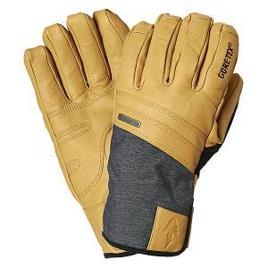 Перчатки сноубордические  Royal Gtx Glove Natural Pow. Цвет: серый,бежевый