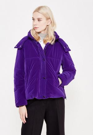 Куртка утепленная Sportmax Code. Цвет: фиолетовый