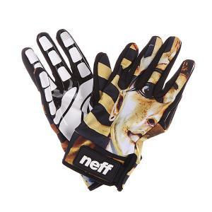 Перчатки сноубордические  Chameleon Phar Neff. Цвет: черный,желтый