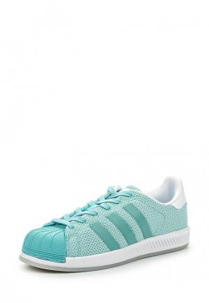 Кеды adidas Originals. Цвет: бирюзовый