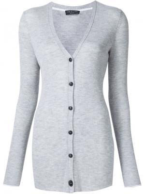 Кардиган Alexandra Rag & Bone. Цвет: серый