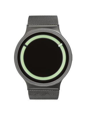 Наручные часы Ziiiro Eclipse Metalic Gunmetal. Цвет: темно-серый, зеленый