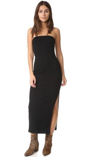 Роскошное платье Bobbi в рубчик Rachel Pally. Цвет: голубой