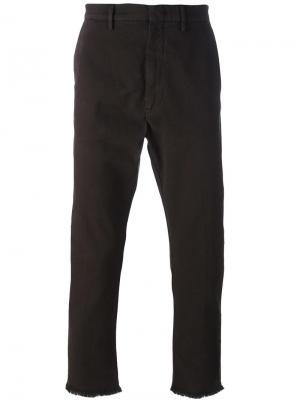 Классические брюки чинос Pence. Цвет: коричневый
