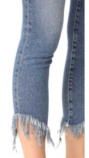 Le High Shredded Raw Skinny Jeans FRAME