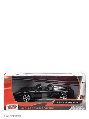 Машинка коллекционная Porsche Carrera GT  Motormax. Цвет: черный