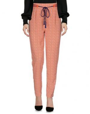 Повседневные брюки SFIZIO. Цвет: оранжевый