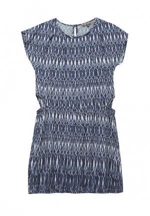 Платье B-Karo. Цвет: синий