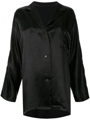 Рубашка с рукавами летучая мышь Zambesi. Цвет: чёрный