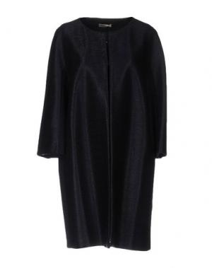 Легкое пальто BRUNO MANETTI. Цвет: темно-синий