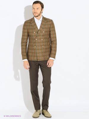 Пиджак MONDIGO. Цвет: коричневый