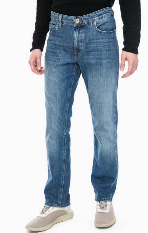 Зауженные синие джинсы Marc O'Polo. Цвет: синий