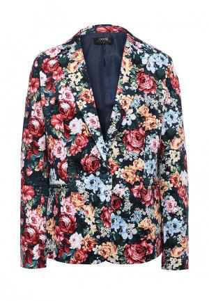 Пиджак oodji. Цвет: разноцветный