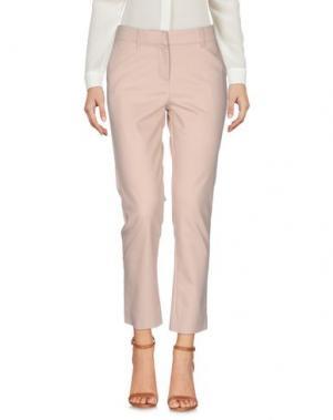 Повседневные брюки KORALLINE. Цвет: бежевый
