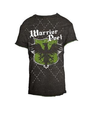 Футболка Warrior Poet. Цвет: темно-серый