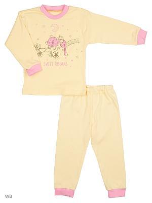 Пижамы Flip. Цвет: желтый, розовый