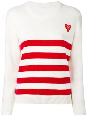 Striped jumper Peter Jensen. Цвет: белый