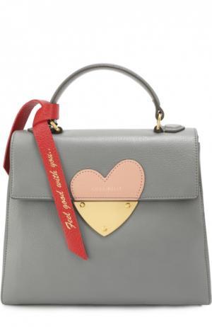 Сумка B14 In Love Coccinelle. Цвет: серый