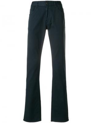 Классические расклешенные джинсы Prada. Цвет: синий