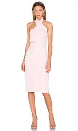 Платье миди the cali TY-LR. Цвет: розовый
