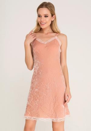 Платье Lezzarine. Цвет: розовый