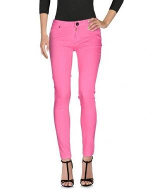 Джинсовые брюки ATELIER FIXDESIGN. Цвет: розовый