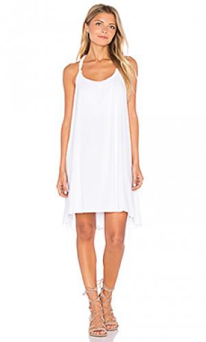 Платье enrico Michael Lauren. Цвет: белый