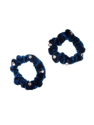 Резинка(2 шт) Bizon. Цвет: синий