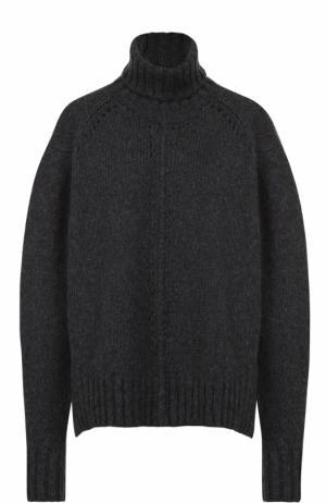 Шерстяной свитер свободного кроя Isabel Marant. Цвет: темно-серый