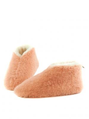 Тапочки ALWERO. Цвет: персиковый