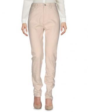 Повседневные брюки KOSTAS MURKUDIS. Цвет: бежевый