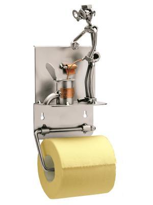 Держатель для туалетной бумаги Hinz&Kunst. Цвет: темно-серый